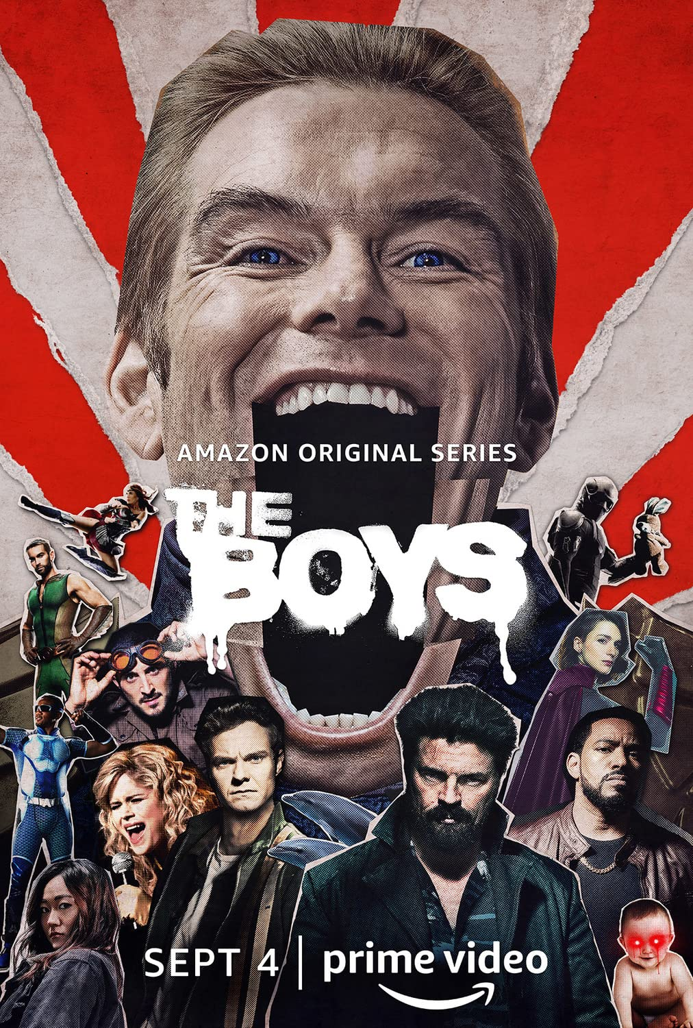 The Boys 2019 S01 Hindi Complete AMZN Web Series 480p HDRip 1.5GB Download