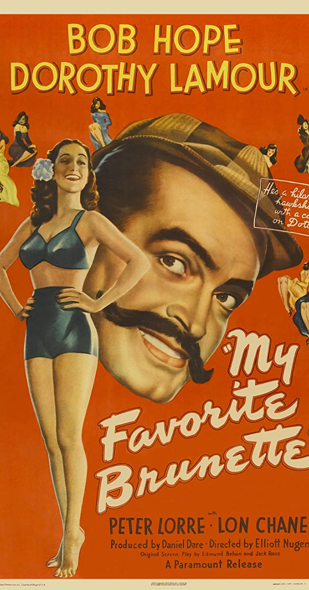 The paleface Bob Hope vintage movie poster print 2