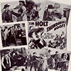 Tim Holt and Ray Whitley in Thundering Hoofs (1942)