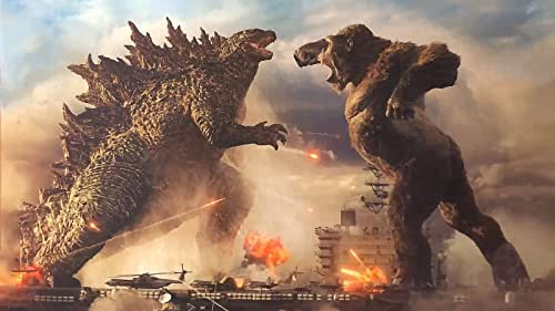 """From Warner Bros. Pictures and Legendary Pictures comes the long-awaited face-off between two icons, """"Godzilla vs. Kong,"""" the next epic adventure in Legendary's cinematic Monsterverse, directed by Adam Wingard."""