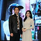 Lorene Ren and Lewis Liu at an event for 49 Days (2020)
