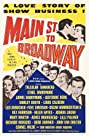 Main Street to Broadway (1953) Poster