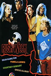 Rush Week (1988) Poster - Movie Forum, Cast, Reviews