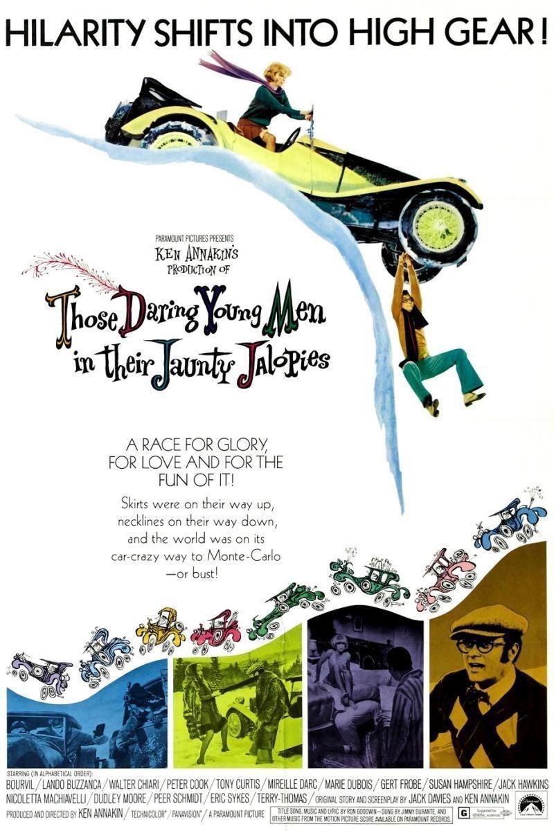 Vintage 1969 Those Daring Young men in Their Jaunty Jalopies Film Movie Programme Souvenir Program Susan Hampshire Tony Curtis Eric Sykes
