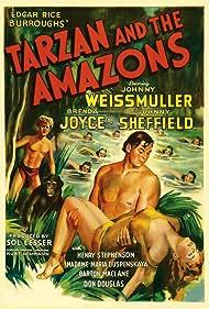 Tarzan and the Amazons (1945)
