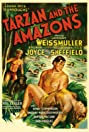 Tarzan and the Amazons (1945) Poster