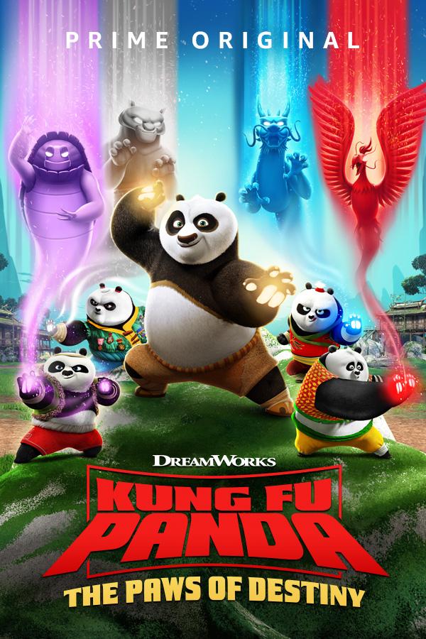 Kung Fu Panda the Paws of Destiny (2018) Season 01 Complete 720p WEB-DL x264 AC3 [Hindi DD5.1] Download