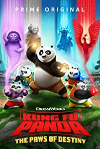 "Go behind the scenes with the cast and crew of the new ""Kung Fu Panda"" series, now available to stream on Prime Video."