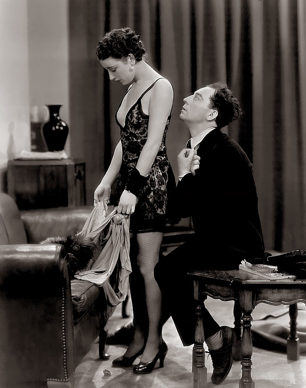 Buster Keaton and Phyllis Barry in What! No Beer? (1933)