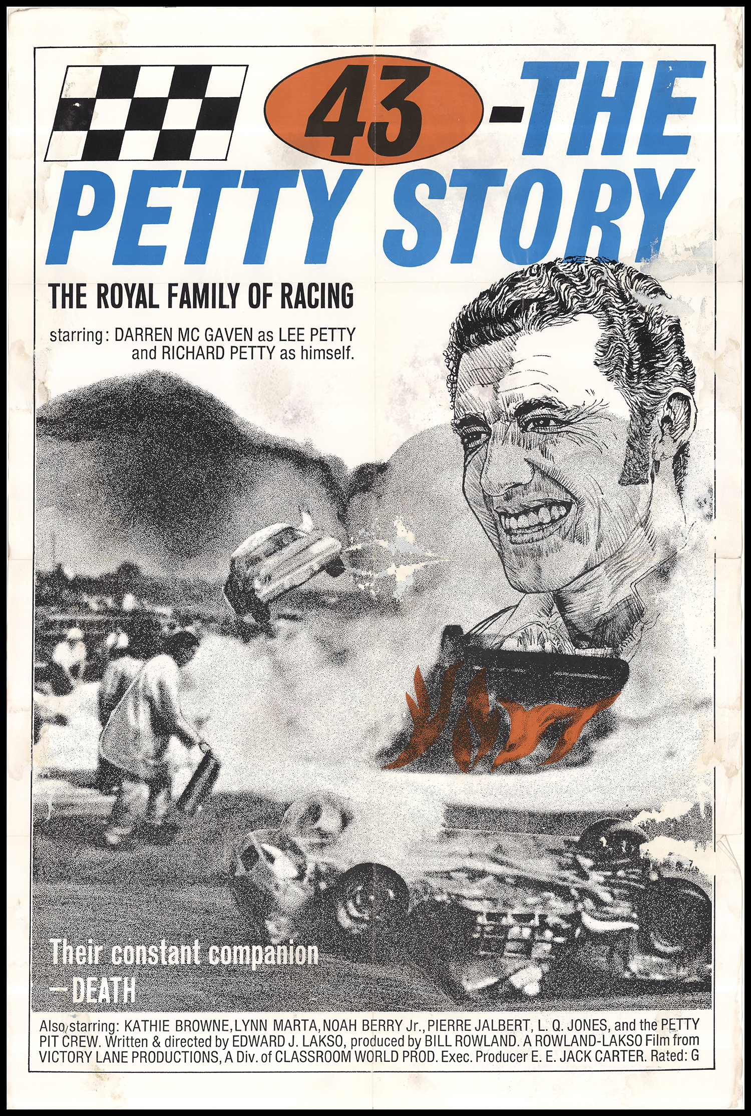 43: The Richard Petty Story (1972) - IMDb