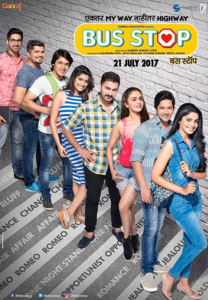 Bus Stop 2017 Marathi 720p 1080p WEB AMZN ULTRA HD