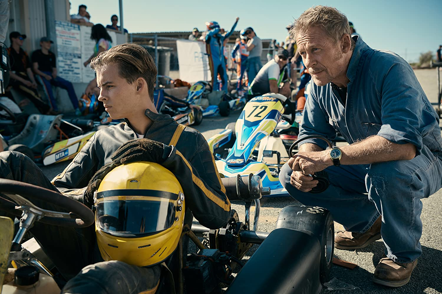 Richard Roxburgh and William Lodder in Go! (2020)