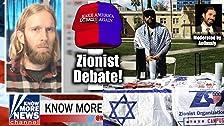 Zionist Debate! Adam 'Know More News' Green vs. Zionist Organization of America's Antar Davidson