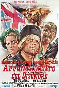Klaus Kinski and Margaret Lee in Appuntamento col disonore (1970)