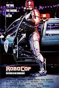 Nancy Allen, Peter Weller, Miguel Ferrer, and Kurtwood Smith in RoboCop (1987)
