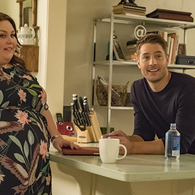 Justin Hartley and Chrissy Metz in This Is Us (2016)