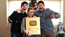 Giving Away Our 1,000,000 Subscriber Gold Play Button