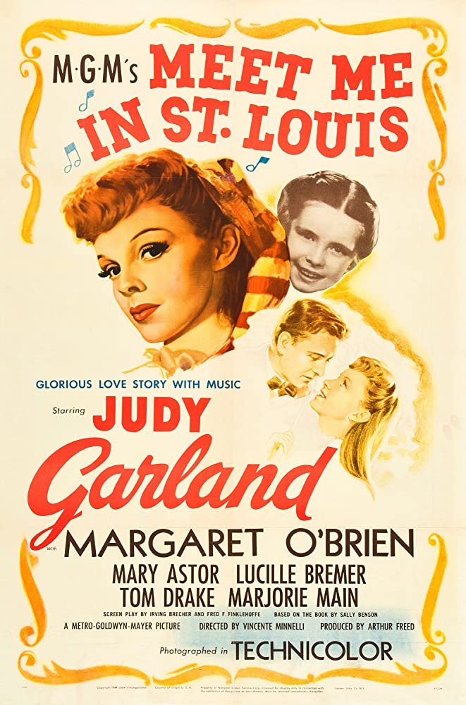 Judy Garland, Tom Drake, and Margaret O'Brien in Meet Me in St. Louis (1944)