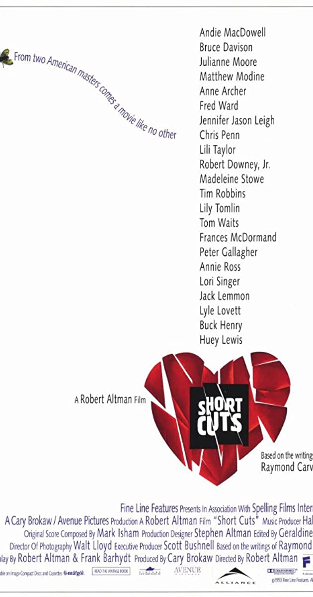 Image result for short cuts film