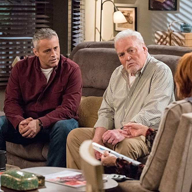 Swoosie Kurtz, Matt LeBlanc, and Stacy Keach in Man with a Plan (2016)