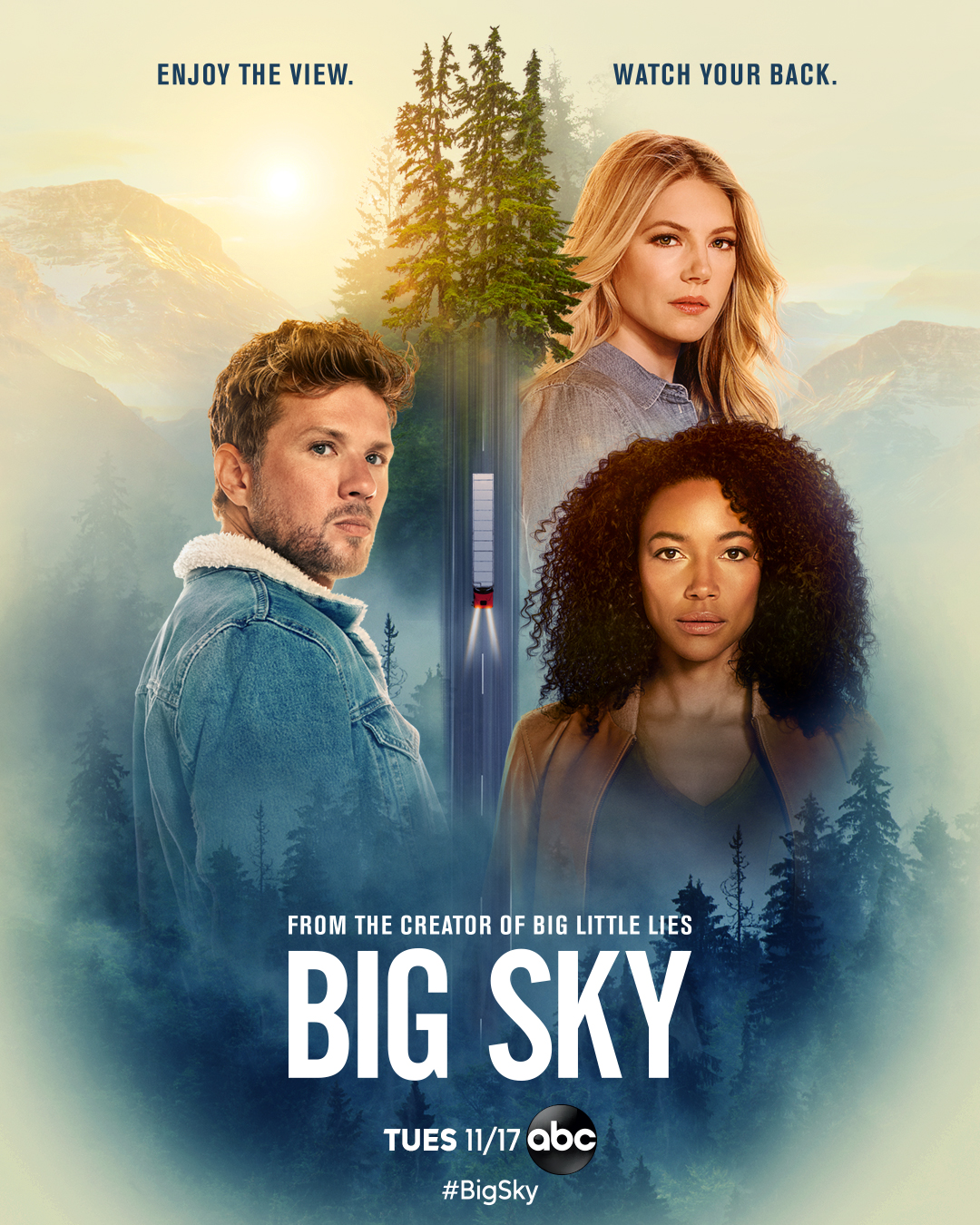 Big Sky series debut has Ryan Phillippe in a Dark, Surprising Plot-Twist
