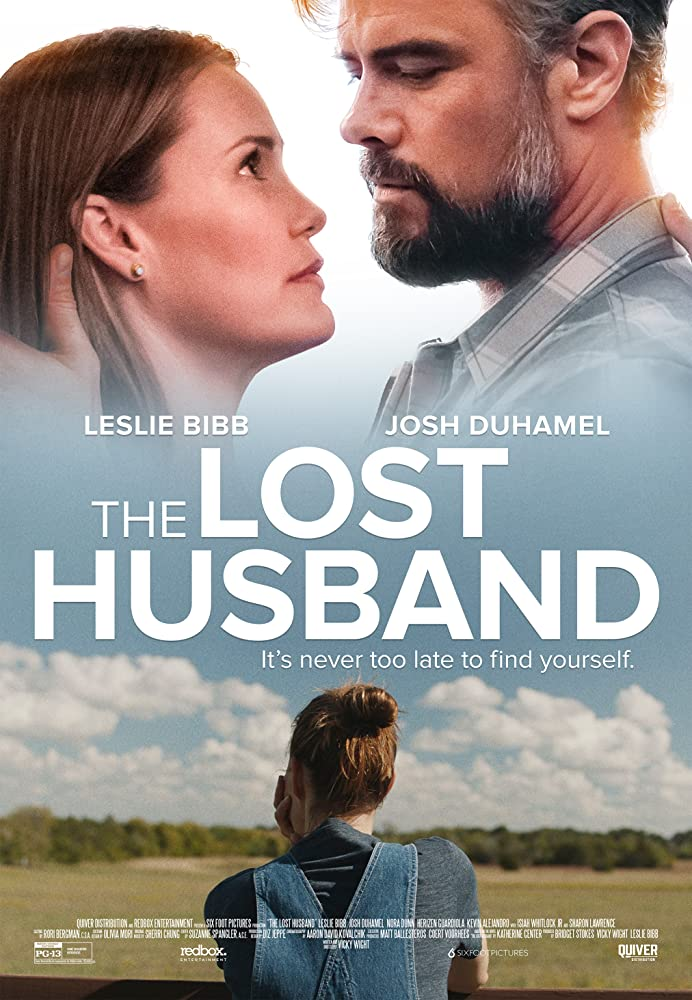 Leslie Bibb and Josh Duhamel in The Lost Husband (2020)