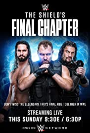 WWE The Shield's Final Chapter Poster