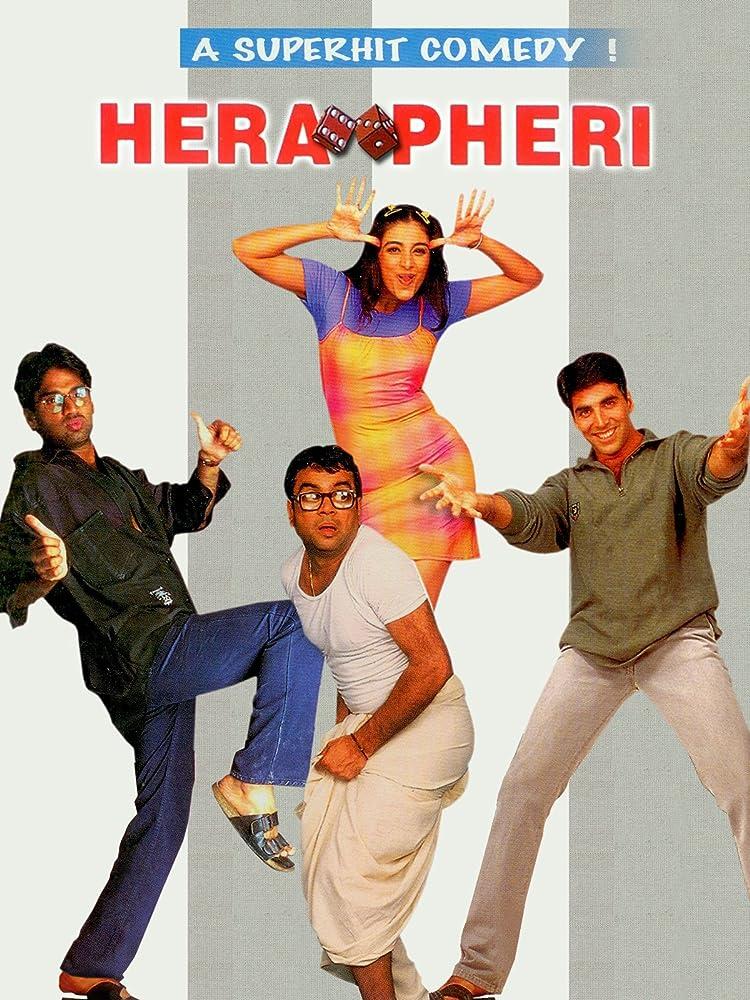 Hera Pheri (2000) WEB-DL [1080p-720p-480p] Hindi AAC ESub