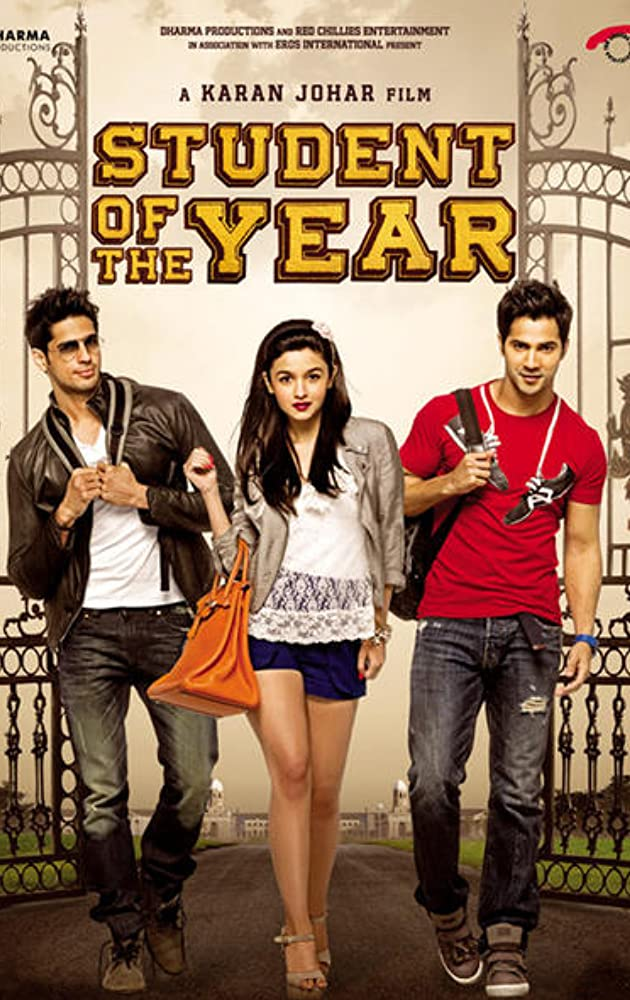 Free Download Student of the Year Full Movie