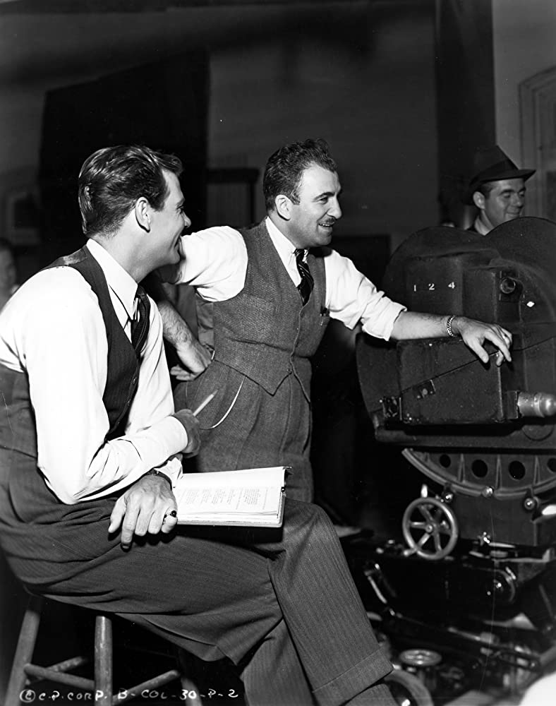 Edward Ludwig and Joel McCrea in Adventure in Manhattan (1936)