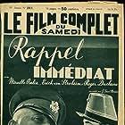 Erich von Stroheim, Mireille Balin, and Roger Duchesne in Rappel immédiat (1939)