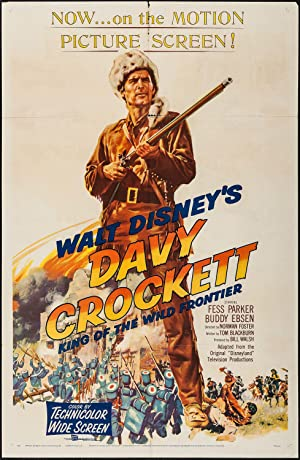 Davy Crockett: King of the Wild Frontier Poster Image