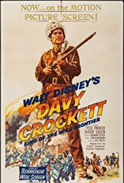 Davy Crockett: King of the Wild Frontier Poster