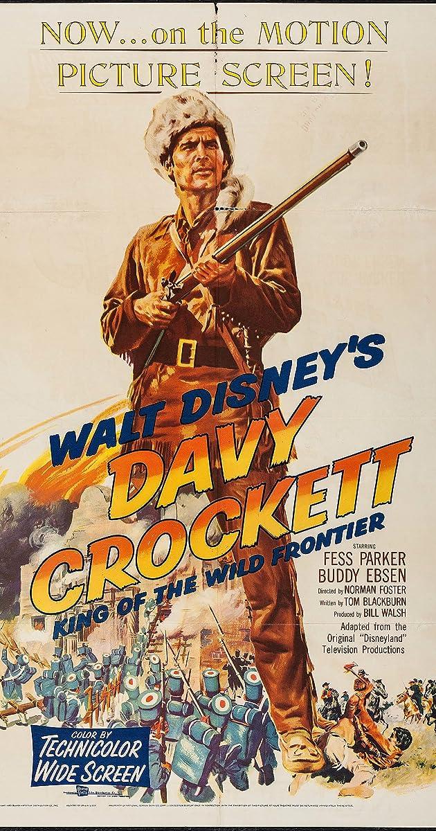 Davy Crockett King Of The Wild Frontier 1955 Imdb