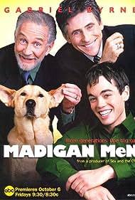 Gabriel Byrne, Roy Dotrice, and John Hensley in Madigan Men (2000)