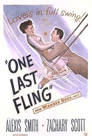 One Last Fling Poster