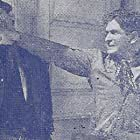 Charles King and Bob Steele in Brand of the Outlaws (1936)