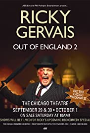 Ricky Gervais: Out of England 2 - The Stand-Up Special (2010) Poster - TV Show Forum, Cast, Reviews