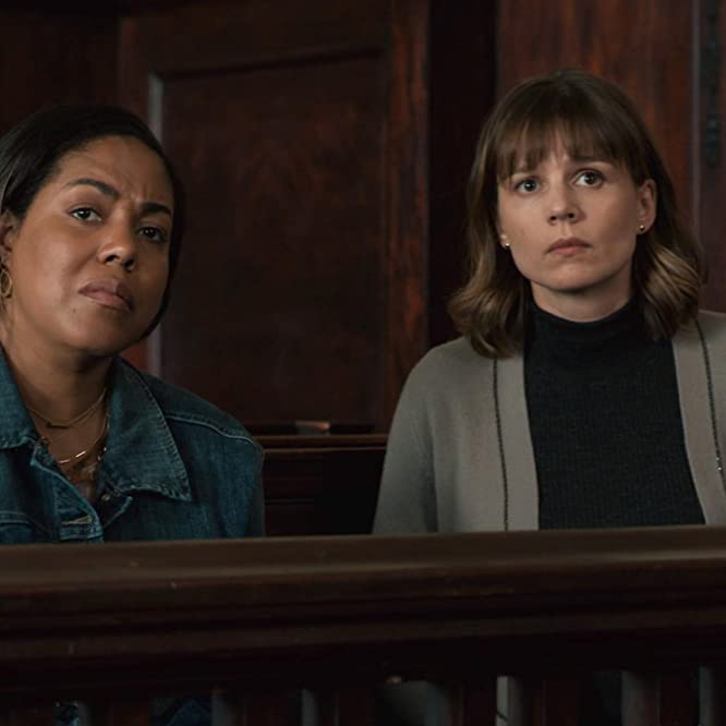 Katja Herbers and De'Adre Aziza in Evil: 3 Stars (2019)