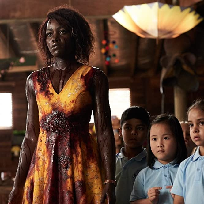 Lupita Nyong'o, Caliah Pinones, Vivienne Albany, Kim Thien Doan, and Diesel La Torraca in Little Monsters (2019)