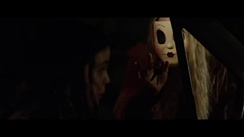 A family's road trip takes a dangerous turn when they arrive at a secluded mobile home park to stay with some relatives and find it mysteriously deserted. Under the cover of darkness, three masked psychopaths pay them a visit to test the family's every limit as they struggle to survive.