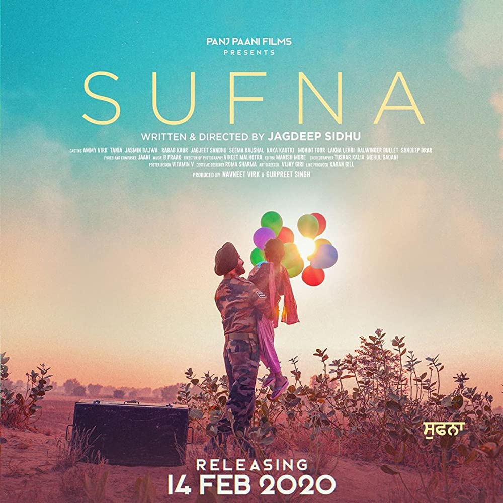 Download Sufna (2020) 720p AMZN WEB-DL x264 Punjabi AAC