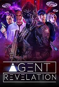 Michael Dorn, Kayla Ewell, Eve Mauro, and Derek Ting in Agent Revelation (2021)