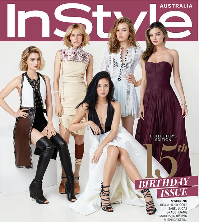 InStyle Australia Magazine April 2015 Collector's Edition Cover