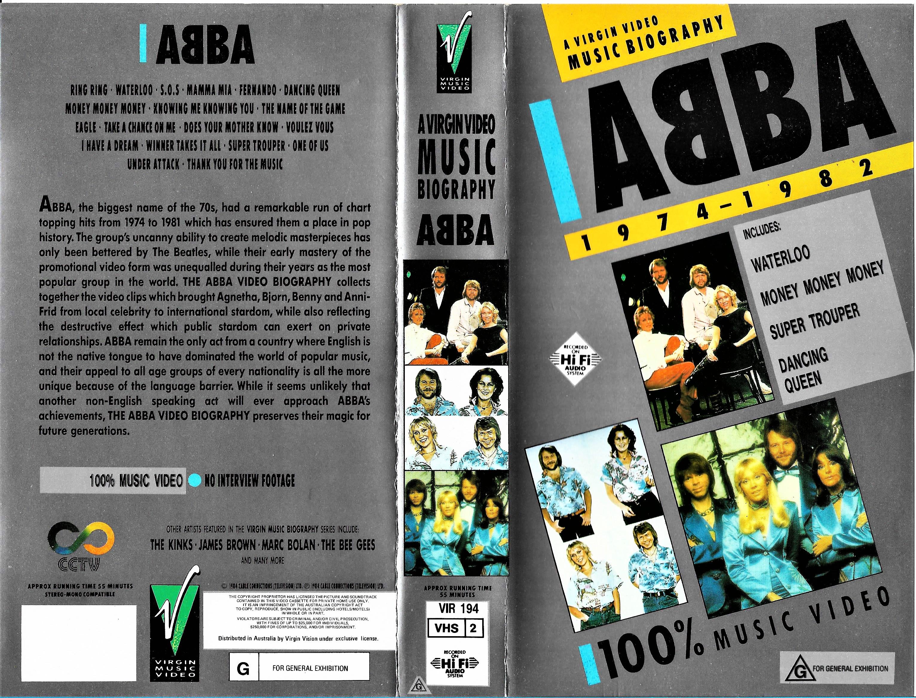 A Virgin Video Music Biography: Abba (1984)