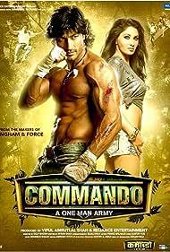 Pooja Chopra and Vidyut Jammwal in Commando (2013)