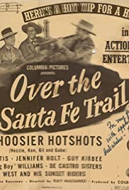 Over the Santa Fe Trail Poster