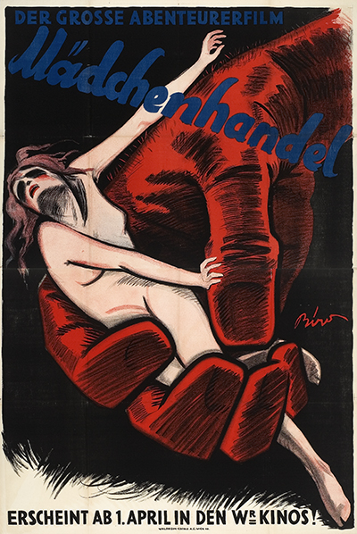 Movie poster image: Mädchenhandel - Eine internationale Gefahr, Germany, 1927