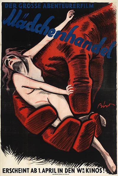 Movie poster image: Mädchenhandel - Eine internationale Gefahr, Germany, 1927