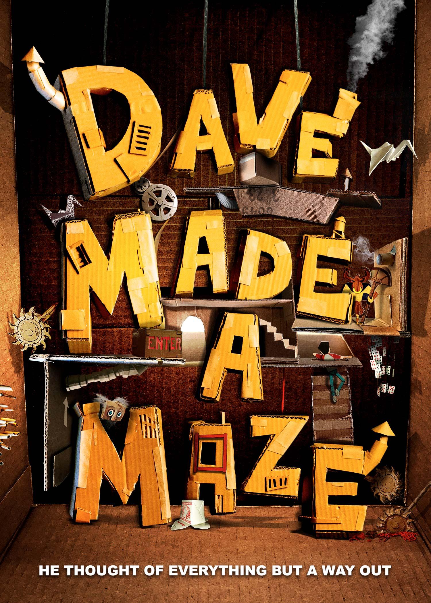 Dave Made a Maze (2017) - IMDb
